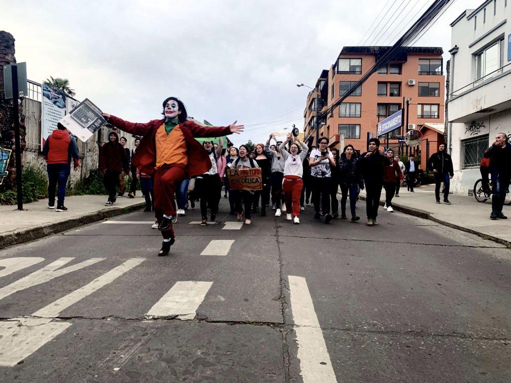 Foto Coringa Manifestação